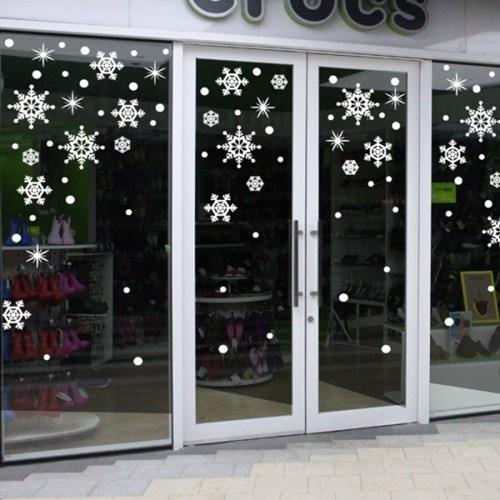 제제데코 크리스마스 눈꽃 스티커 장식 CMS4J013_(837099)