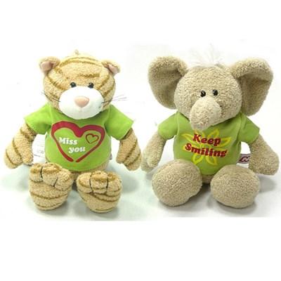 니키 댕글링 니키앤유 인형 시리즈(코끼리,고양이)+티셔츠 포함