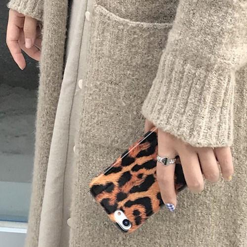 (잘된케이스) leopard phone case (유광)