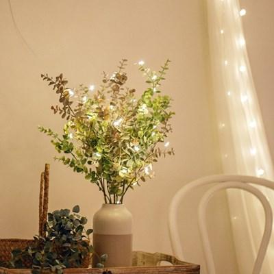 로맨틱 LED 와이어전구 별전구 미니앵두전구