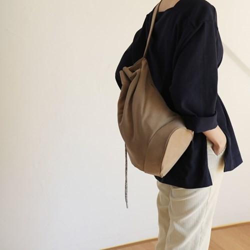 monochrome shoulder bag _ brown