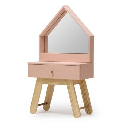 [밀크트리] 유아,어린이 화장대 - 핑크