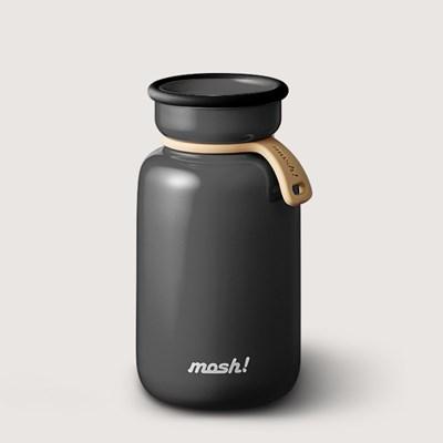 [MOSH] 모슈 보온보냉 라떼 텀블러 330 블랙