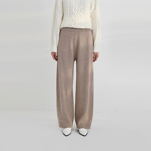 knit long pants (3colors)