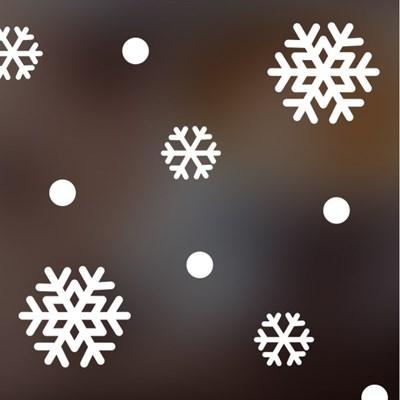 크리스마스 눈꽃 스티커 xms007
