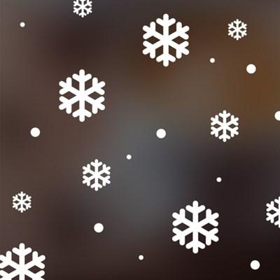 크리스마스 눈꽃 스티커 xms001