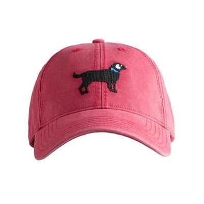 [Hardinglane]Adult`s Hats Black Lab on weathered red