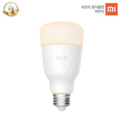 [공식총판] 샤오미 이라이트 스마트 LED 백색전구 2세대