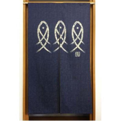 일본풍 커튼 노렌 85cm*150cm-고대어(6414337S1)
