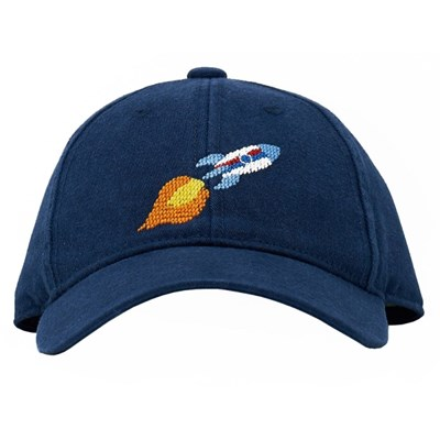 [Hardinglane]Kid`s Hats Rocket on navy