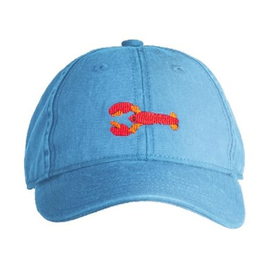 [Hardinglane]Kid`s Hats Lobster on coast blue