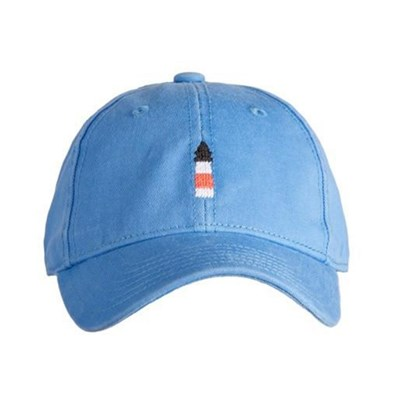 [Hardinglane]Kid`s Hats Lighthouse on light periwinkle