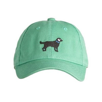 [Hardinglane]Kid`s Hats Black Lab on mint green