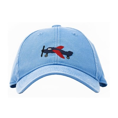 [Hardinglane]Kid`s Hats Airplane on coast blue