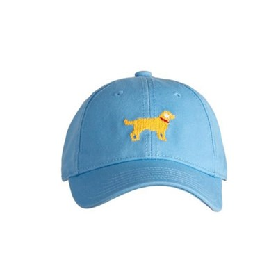 [Hardinglane]Kid`s Hats Yellow Lab on coast blue