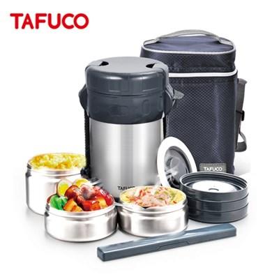 타푸코TAFUCO 일체형 스텐 보온도시락 1.5L /TID-1500