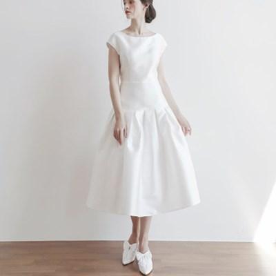 [CLAIR DE LUNE] RIBBONTIE DRESS