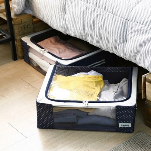 침대밑 수납박스 32L 4개입