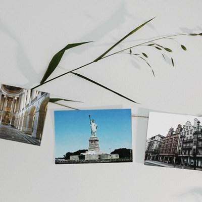 엽서 6SET, 여행