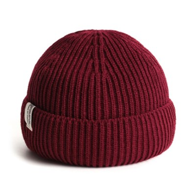 18F STORY S LABEL BEANIE_RED