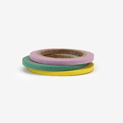 Masking tape 3mm 3p - 04 Pastel