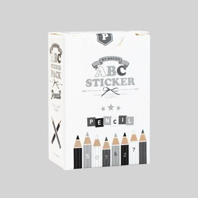 알파벳 스티커팩-03 펜슬