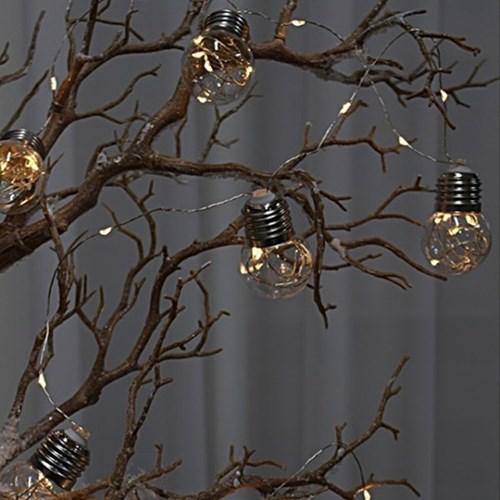 실버 와이어 백열등 LED 9구 전구_(1415556)