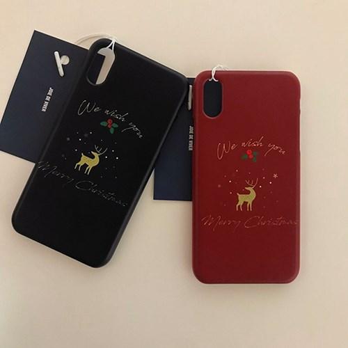 Rudolph christmas case (2color)