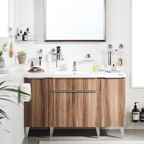 [한샘몰X모던파워락] 욕실 흡착 수납용품 (12종중 택1)
