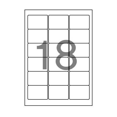 주소용 라벨(LQ-3218/20매/18칸/폼텍)_(13303810)