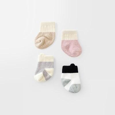 [메르베] 포근이 아기수면양말_겨울용_(1166079)