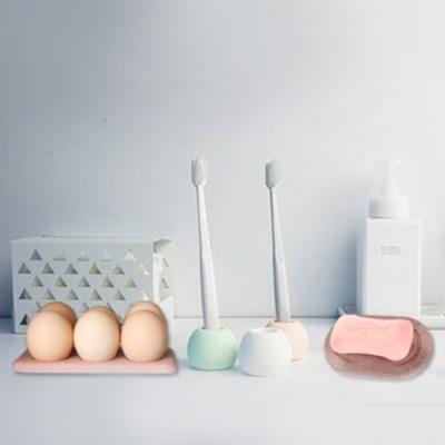 빠띠라인 규조토 비누받침 칫솔홀더 계란트레이 12종 택1