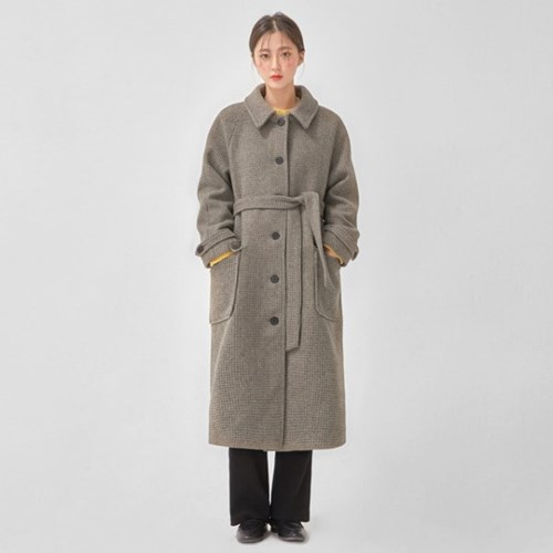 standard neat wool check single coat_(1090628)