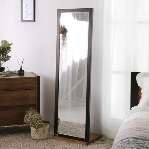 [바네스데코] LD 원목 다크 전신 거울 (스탠드거치형)_(1053455)