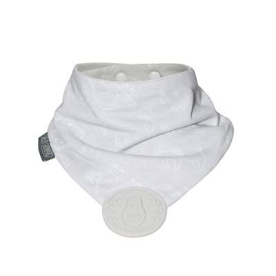 치키촘퍼스 히포 네커츄 턱받이 실리콘치발기(애니멀크래커)