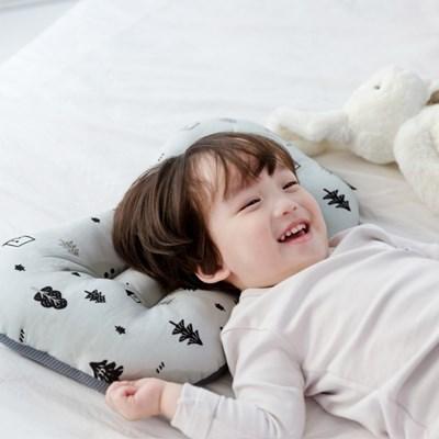 코니테일 아기 경추베개 - 포레스트(어린이 유아베개 이탈방지)