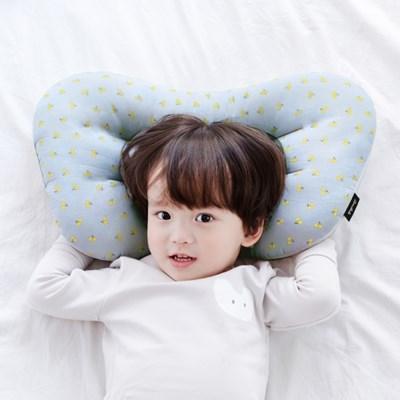 코니테일 아기 경추베개 - 블루체리(어린이 유아베개 이탈방지)