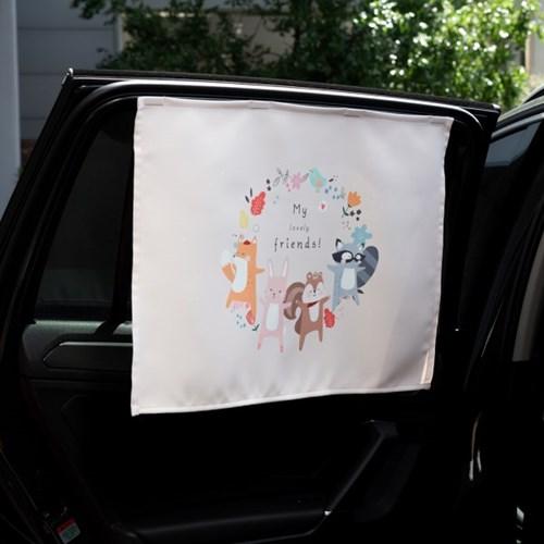 러블리프렌즈 차량용 햇빛가리개/다용도가리개커튼