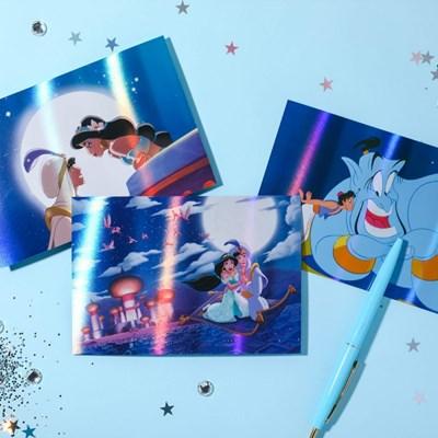 [디즈니] 알라딘 홀로그램 엽서