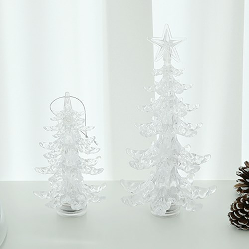 Clear Tree Lamp
