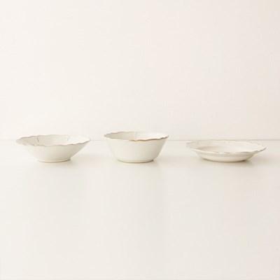 antique flower series - bowl (3size)