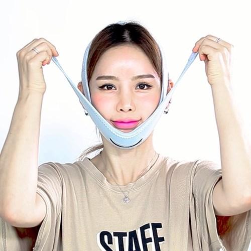 정품 메디미 2stepV 브이라인밴드 얼굴 리프팅 이중투턱살