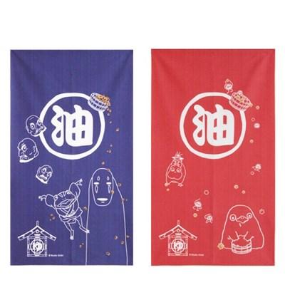 지브리 센과 치히로의 행방불명 노렌(레드/블루)(H150cm)