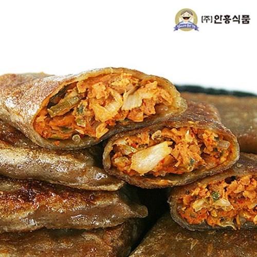 안흥식품_금바위 메밀 김치전병 1.2kg X 3