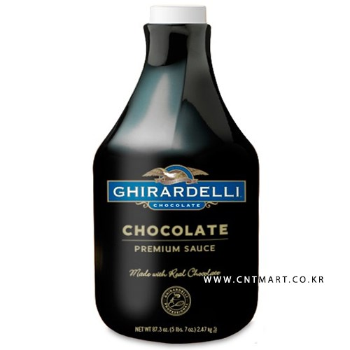 기라델리 다크 초콜릿 소스 2.47kg_(731408)