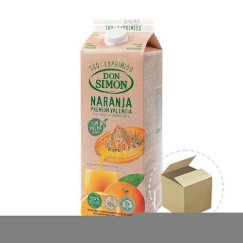 돈시몬 착즙주스 오렌지 2L 1박스(6개)_(731945)