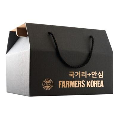 안동한우 +1등급 안동한우 국거리 400g + 안심 400g