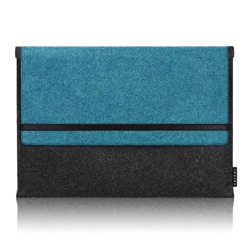Sleeve for Macbook air & Macbook (Graphite/Turkey Blue)