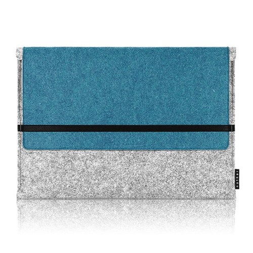 Sleeve for Macbook air & Macbook (Gray/Turkey Blue)