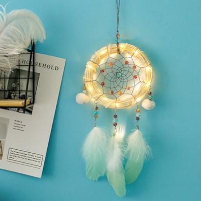 화이트 나무 둥지 LED 드림캐쳐(3 TYPE)